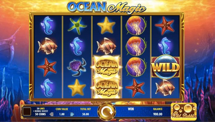Description: ocean-magic-igt-slot-machine
